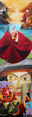 The Cultural, Bhutan India Friendship Mega Mural, Manav Gupta
